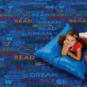 Read to Dream Pattern Rug by Carpets for Kids