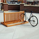 Recycled Plastic Bike Rack by Frog Furnishings