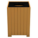 Click here for more Resinwood Square Receptacles by Frog Furnishings by Worthington