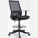 Click here for more Mesh Back Drafting Stool by OFD Office Furniture by Worthington