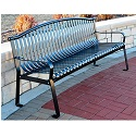 Click here for more Rockford Outdoor Benches by Frog Furnishings by Worthington