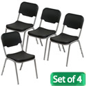 Rough N Ready Stack Chairs-Set of Four by Iceberg