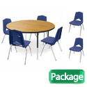 Round Activity Table & Chair Package Set by Marco Group