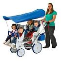 Click here for more Runabout Commercial Stroller 6 Seat by Angeles by Worthington