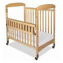 SafeReach Side Gate Compact Serenity Crib by Foundations
