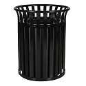 Click here for more Streetscape Classic Outdoor Trash Receptacle by Ex-Cell Kaiser by Worthington