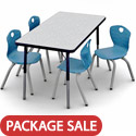 Click here for more Ovation Chair and Activity Table Packages by Scholar Craft by Worthington
