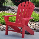Click here for more Seaside Adirondack Chair by Jayhawk Plastics by Worthington