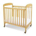 Click here for more Serenity Fixed Side Compact Cribs by Foundations by Worthington