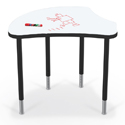 Click here for more Shapes Harmony Desk with Dry Erase Top by Mooreco by Worthington