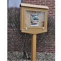 Click here for more Small Hinged Outdoor Message Centers by Jayhawk Plastics by Worthington