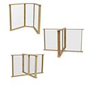 Click here for more Sneeze Guard Table Partition by Wood Designs by Worthington