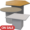 Click here for more Sonik Padded Base Tables by Marco Group by Worthington