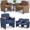 Somerset Series Reception Seating by Lesro