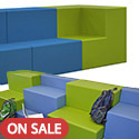 Click here for more Sonik Step Tiered Soft Seating by Marco Group by Worthington