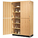 Click here for more Split Level Science Storage Cabinets by Diversified Woodcrafts by Worthington