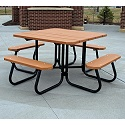 Click here for more Square Outdoor Picnic Tables by Frog Furnishings by Worthington