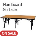 Fixed Height Stages w/ Hardboard Surface by Amtab