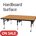 Dual Height Stages w/ Hardboard Surface by Amtab