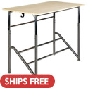 Click here for more Stand2Learn Two Student Standing Desks by Varidesk by Worthington