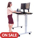 Click here for more Electric Standing Desks by Luxor by Worthington