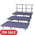 Click here for more Straight Riser Set w/ Carpet Surface by Amtab by Worthington