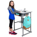 Click here for more Sit and Stand Manual Student Desks by Luxor by Worthington