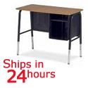 Click here for more Virco 765 Jr Executive Desk 24 Hour Quick Ship by Worthington