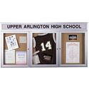 Click here for more Enclosed Bulletin Boards by Worthington