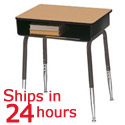 Click here for more Scholar Craft 2900 Open Front Desk- 24 Hour Ship by Worthington