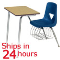 Click here for more Scholar Craft 627 Combo School Desk- Quick Ship by Worthington