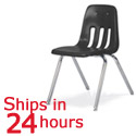 Click here for more Virco 9018 Black Chair 24 Hour Ship by Worthington