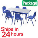 Click here for more Marco Table & Chair Packages - 24 Hour Quick Ship by Worthington