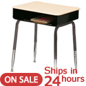 Click here for more Scholar Craft 2900 Solid Plastic Desk- Quick Ship by Worthington