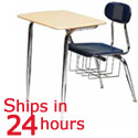 Click here for more Scholar Craft Solid Plastic Combo Desk- Quick Ship by Worthington