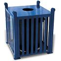 Savannah Outdoor Trash Receptacles by UltraPlay