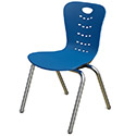 Click here for more Synergy Stack Chairs by Tesco by Worthington