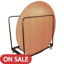 Click here for more Round Folding Table Caddy by Amtab by Worthington