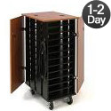 Click here for more 24 Tablet Charging Carts by Oklahoma Sound by Worthington