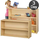 Click here for more Eco Straight Shelf Storage Units by Tot-Mate by Worthington
