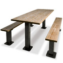 Traditional Multi-Pedestal Picnic Table by UltraPlay