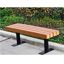Trailside Outdoor Benches by Jayhawk Plastics