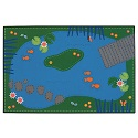 Tranquil Pond ValuePlus Rug by Carpets for Kids
