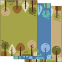 Tranquil Trees KIDSoft Rugs by Carpets for Kids