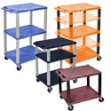 Click here for more Color Tuffy Utility Cart by Luxor by Worthington