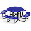 Click here for more Round Solid Top Outdoor Picnic Tables by UltraPlay by Worthington