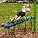 Click here for more Horizontal Chin-Up Station by UltraPlay by Worthington