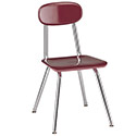 Legacy 500 Series H-Frame Classroom Chairs by USA Capitol