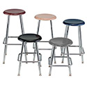 Click here for more 100 Series Adjustable Hard Plastic Stools by USA Capitol by Worthington