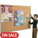 Valu-Tak Cork Bulletin Board with Aluminum Trim by Best-Rite
